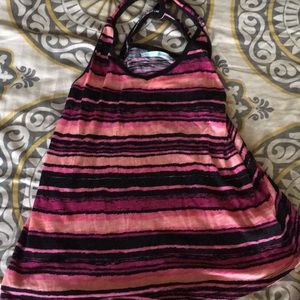 Maurices cute racer back tank top women's large